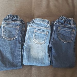 3 pairs 4t toddler jeans